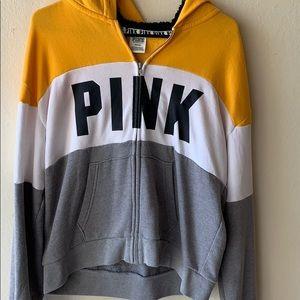 VS Pink// Full zip hoodie jacket